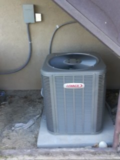 Saratoga Springs, UT - Install New Lennox 13 Seer air conditioner.