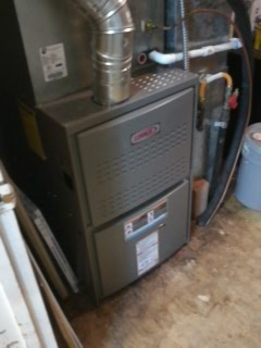 Pleasant Grove, UT - Install new Lennox 80% efficient furnace.