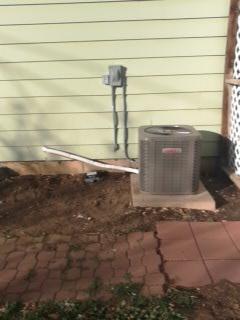 Orem, UT - Install new Lennox 13 SEER Air-conditioner.