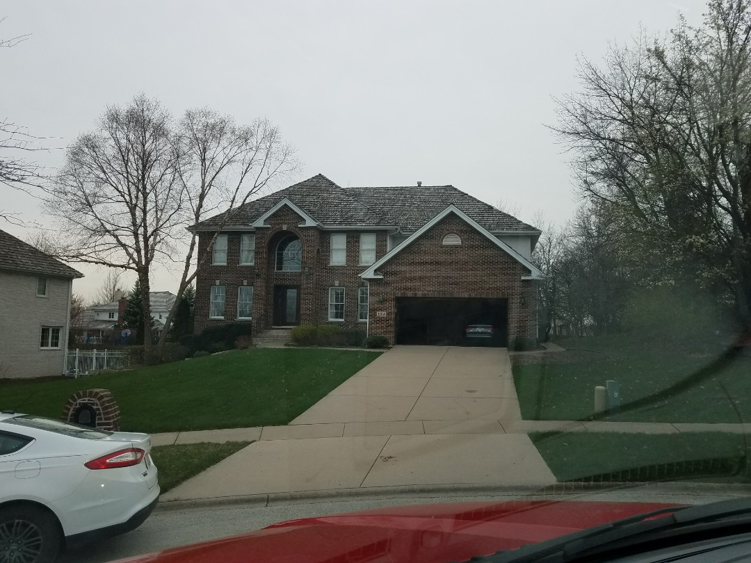 Orland Park, IL - Replacing a cedar shake roof.