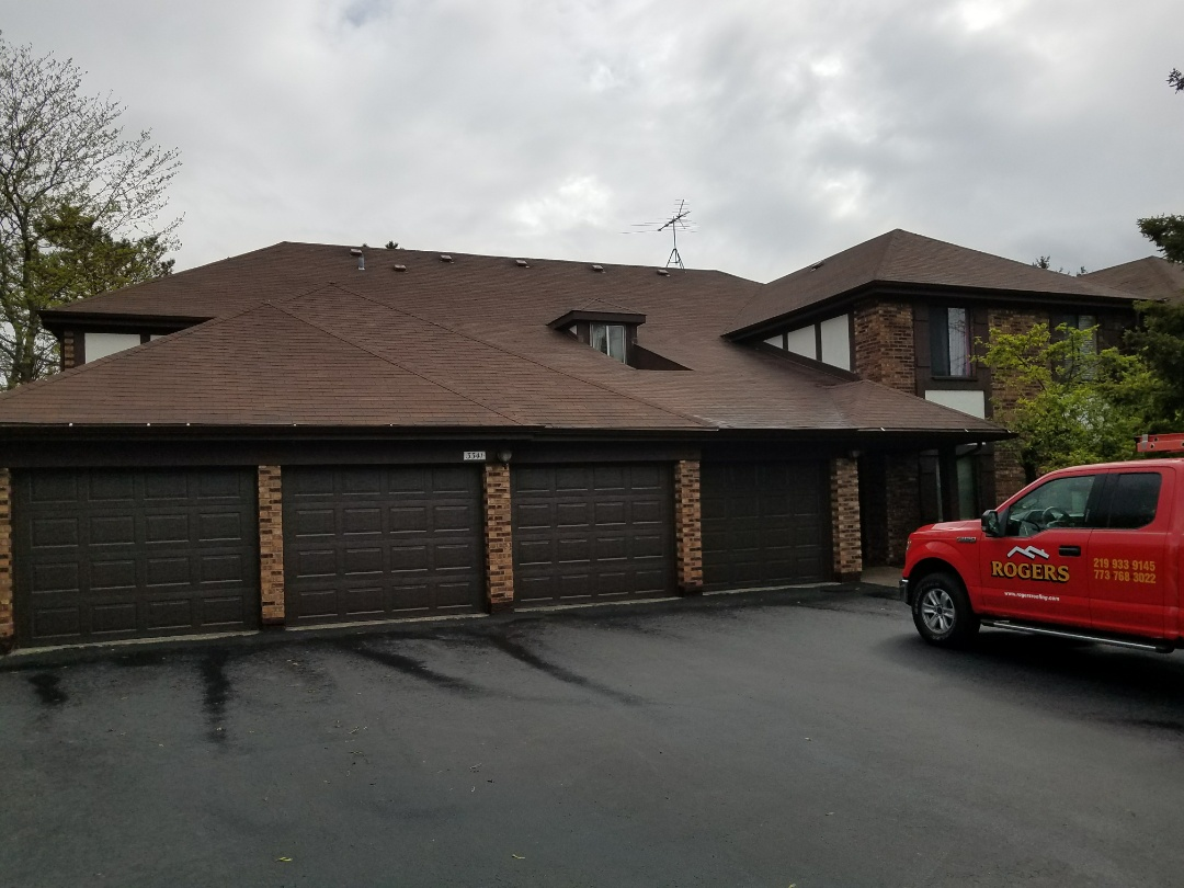 Homewood, IL - Getting ready to install a new roof.