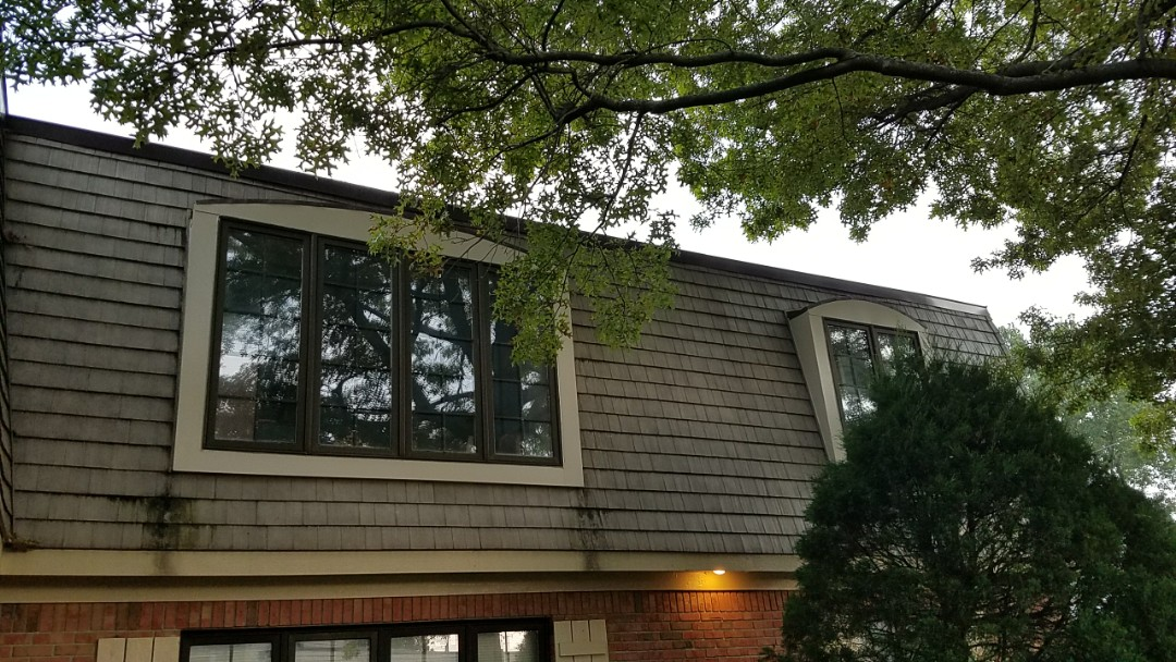 Schererville, IN - New aluminum capping on dormers.