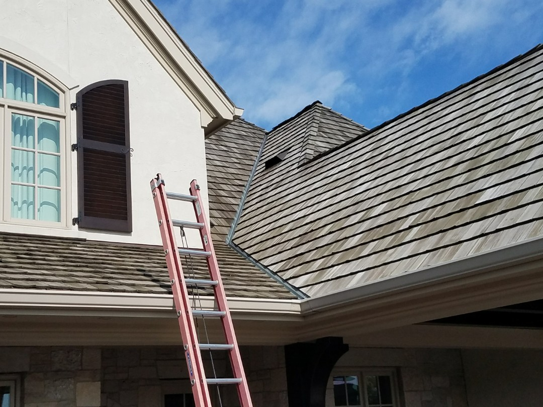 Munster, IN - Fixing some wind damaged ridge vent