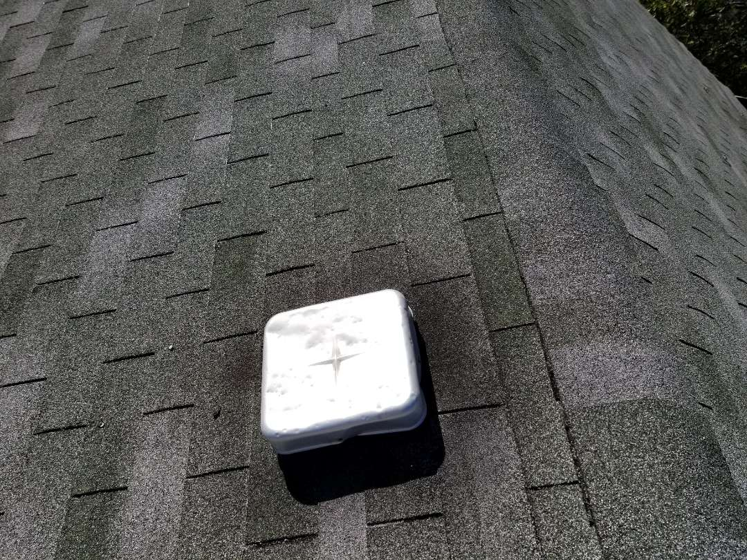 Chicago, IL - Hail damage to roof