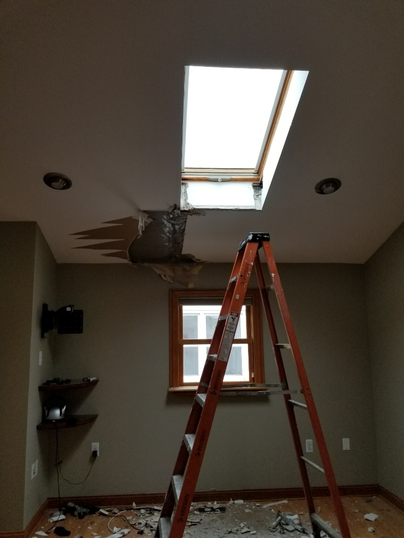 Highland, IN - Estimate to replace leaking skylight