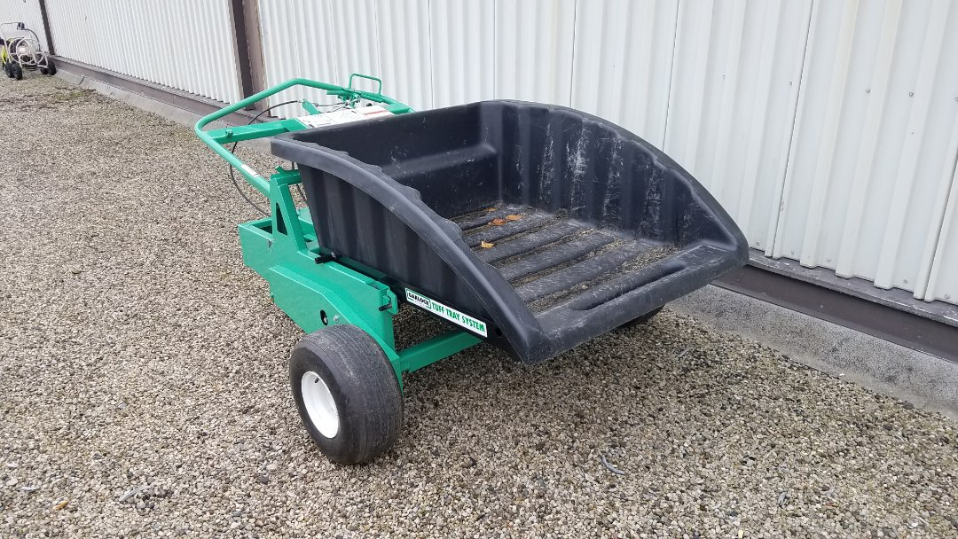 Chicago, IL - A new motorized wheelbarrow. Work smarter not harder!