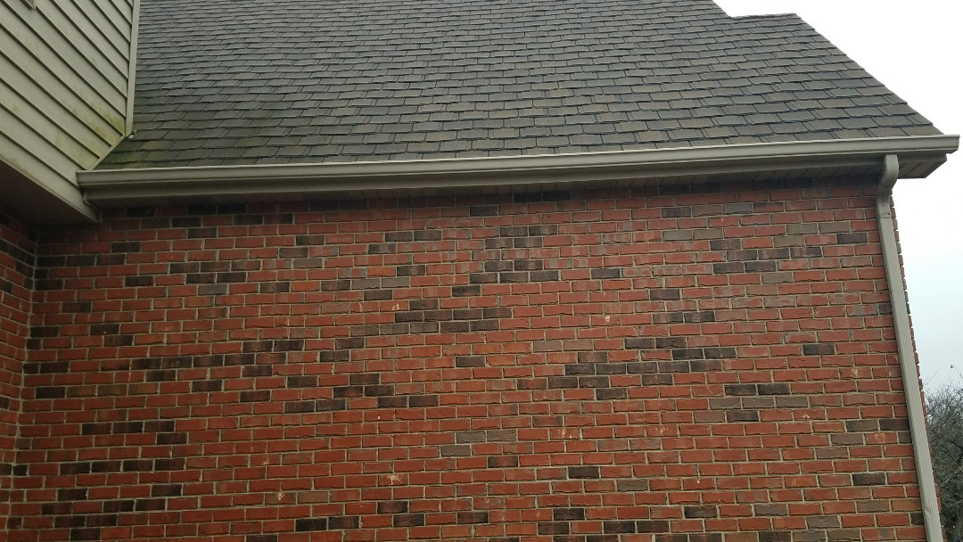 Dyer, IN - Getting ready to install new Leaf Relief gutter protection