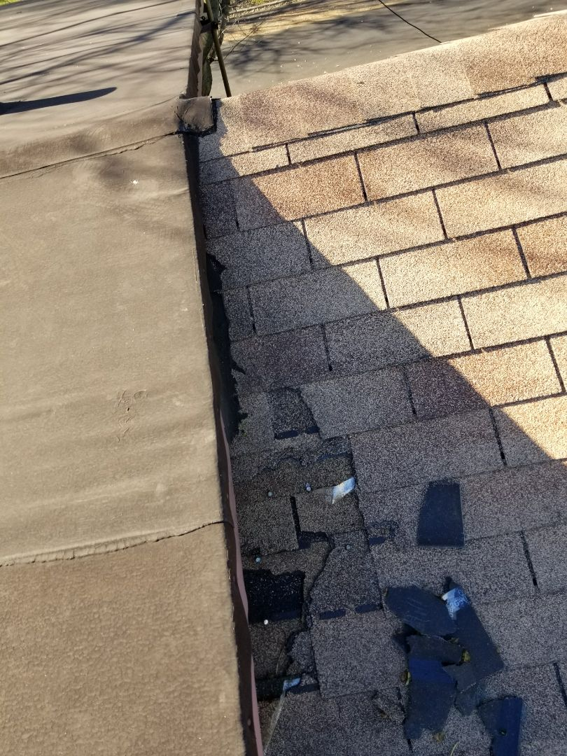 Highland, IN - Estimate for roof repair