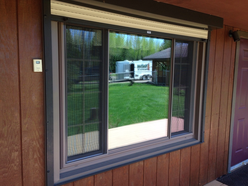 Aurora, MN - Helped reduce heating cooling costs while adding value and beauty to this home on rural Aurora, MN