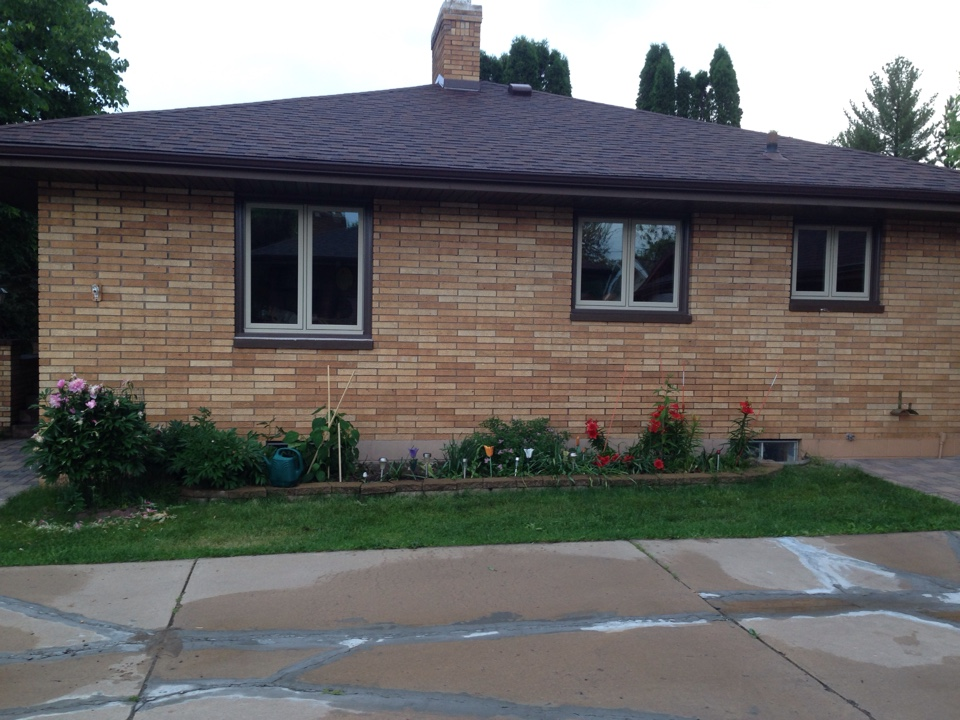 Hibbing, MN - New casement windows with triple pane glass krypton gas filled 4coats of low e heat reflectant material.