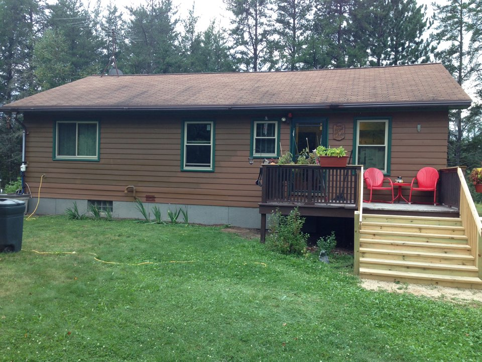 Virginia, MN - New Restorations triple pane pane windows in this home in rural Virginia, MN.