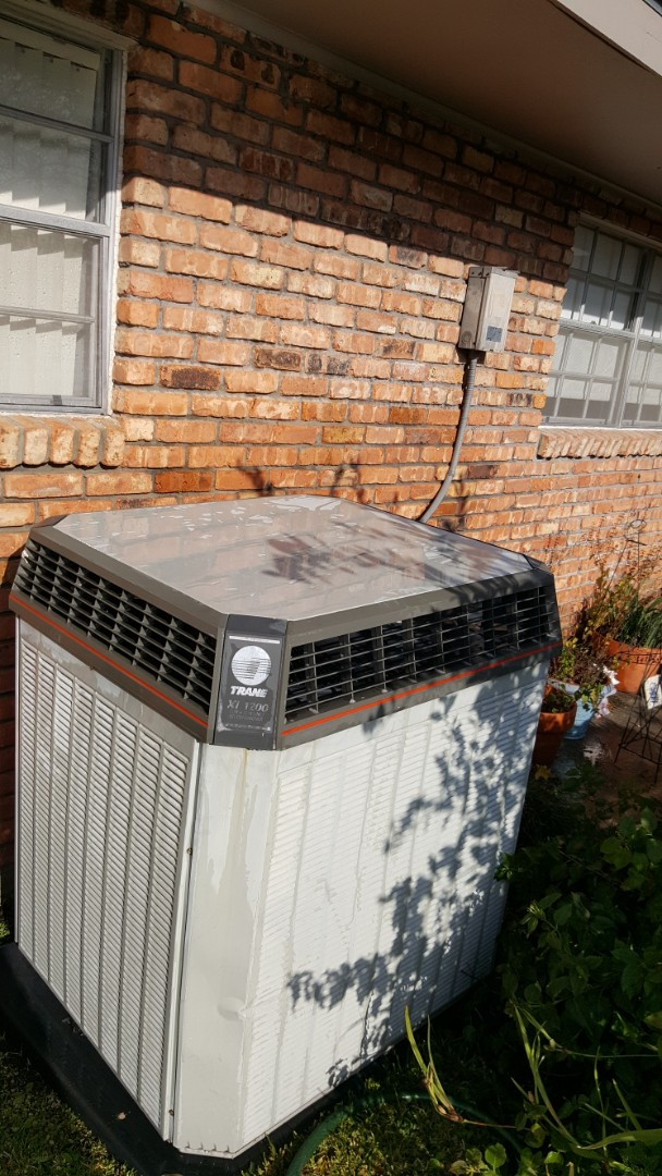 Baton Rouge, LA - Finishing a precision tuneup on a trane furnace and condenser in a single family home in baton rouge, la