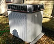 Baton Rouge, LA - Just finished up a condenser. As long as we're taking care of it, it'll be good for a long time.