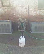 Baton Rouge, LA - Took care of these two condensers. Nice and clean for a while now.