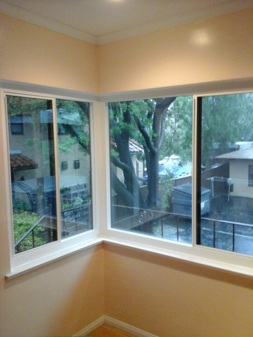Altadena, CA - Installed windows  on entire two story home