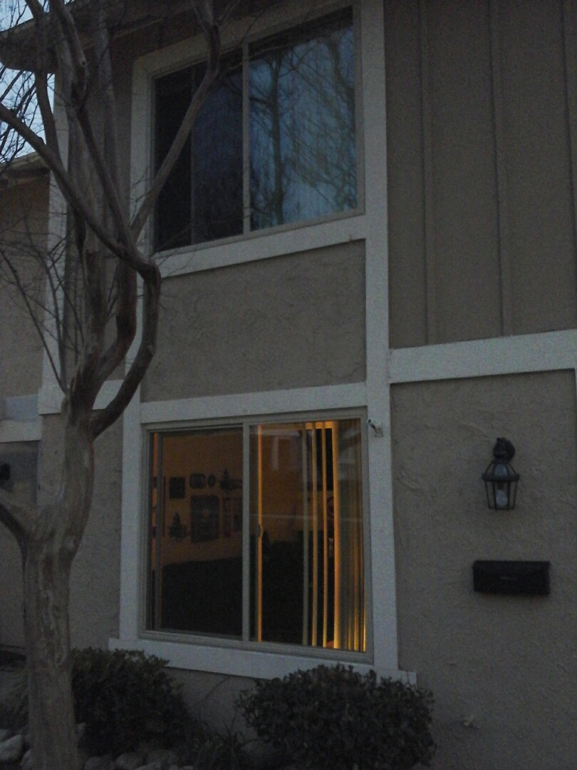 La Verne, CA - Installed new Simonton windows in this condo