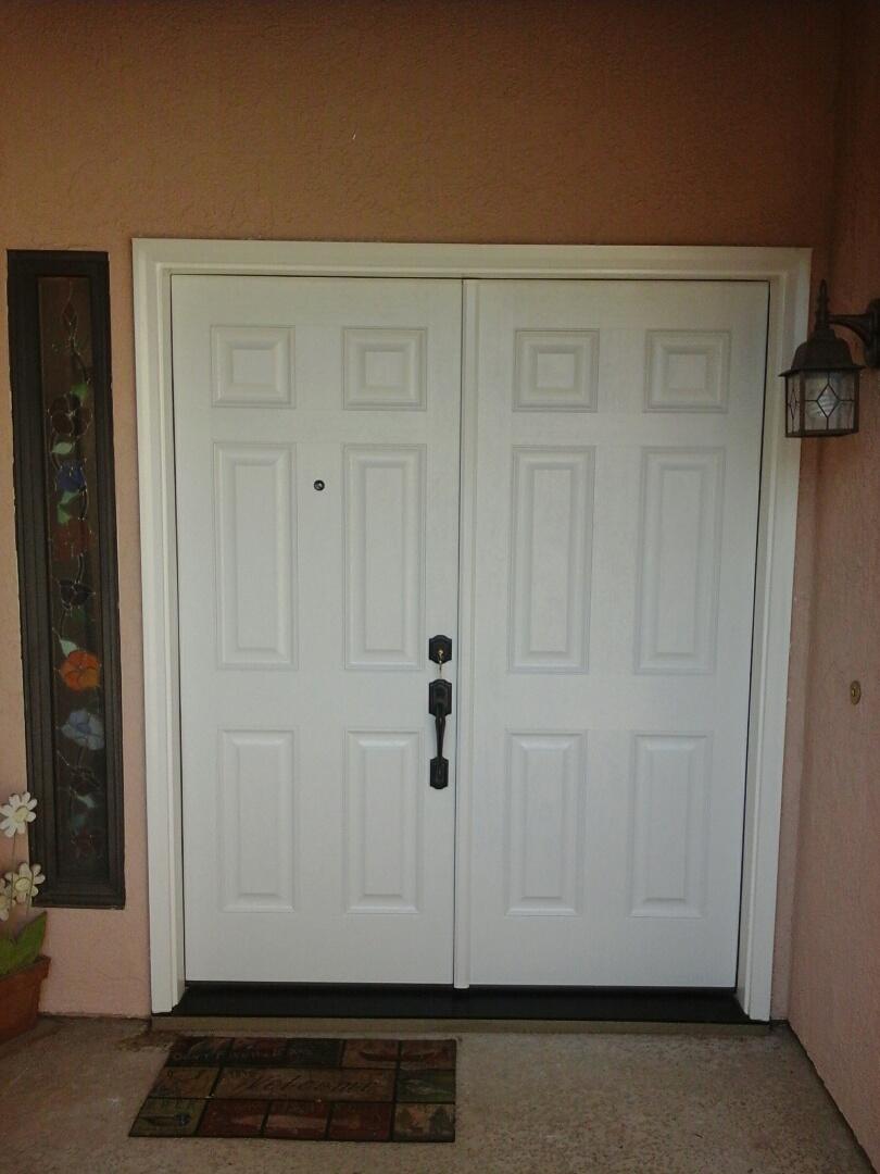 Claremont, CA - Double entry door replaced!!!