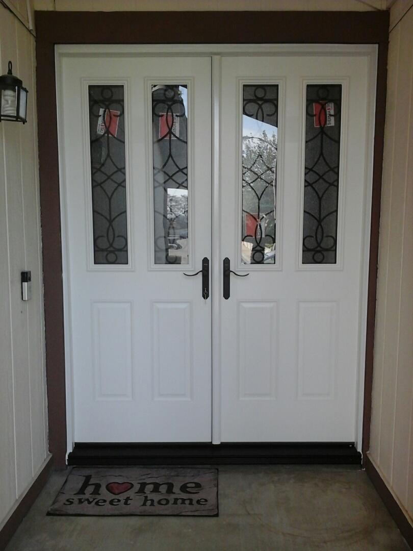 Claremont, CA - Entry door eplaced!!!