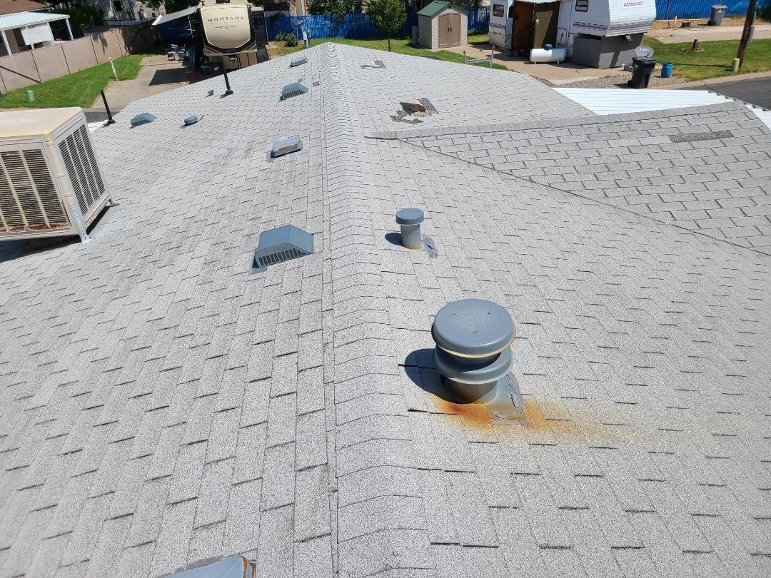 Layton, UT - Providing a bid for a full roof replacement in the Circle L RV Park