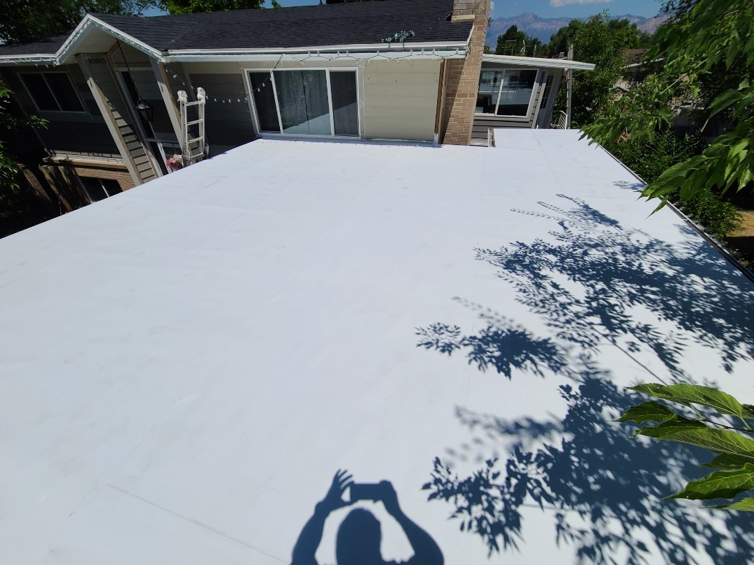 Ogden, UT - 60 mil TPO recover over bry roofing with a full taper to drain water.