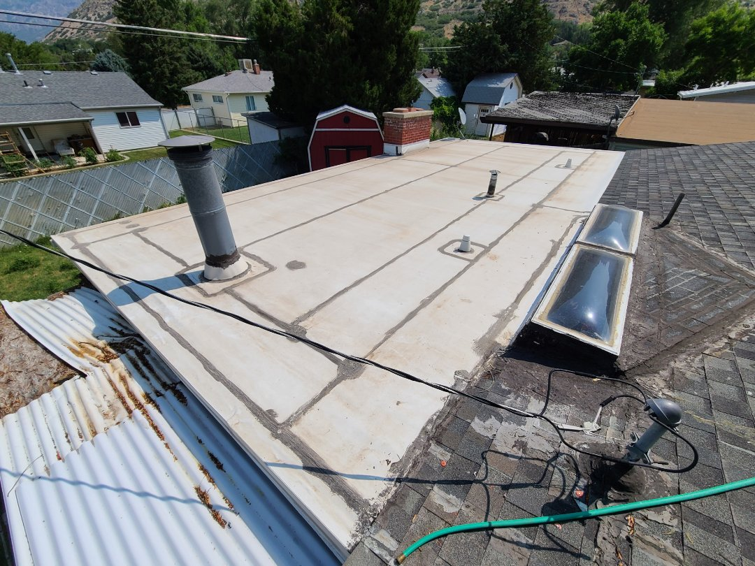 Layton, UT - Free quote for a 60mil TPO recover.