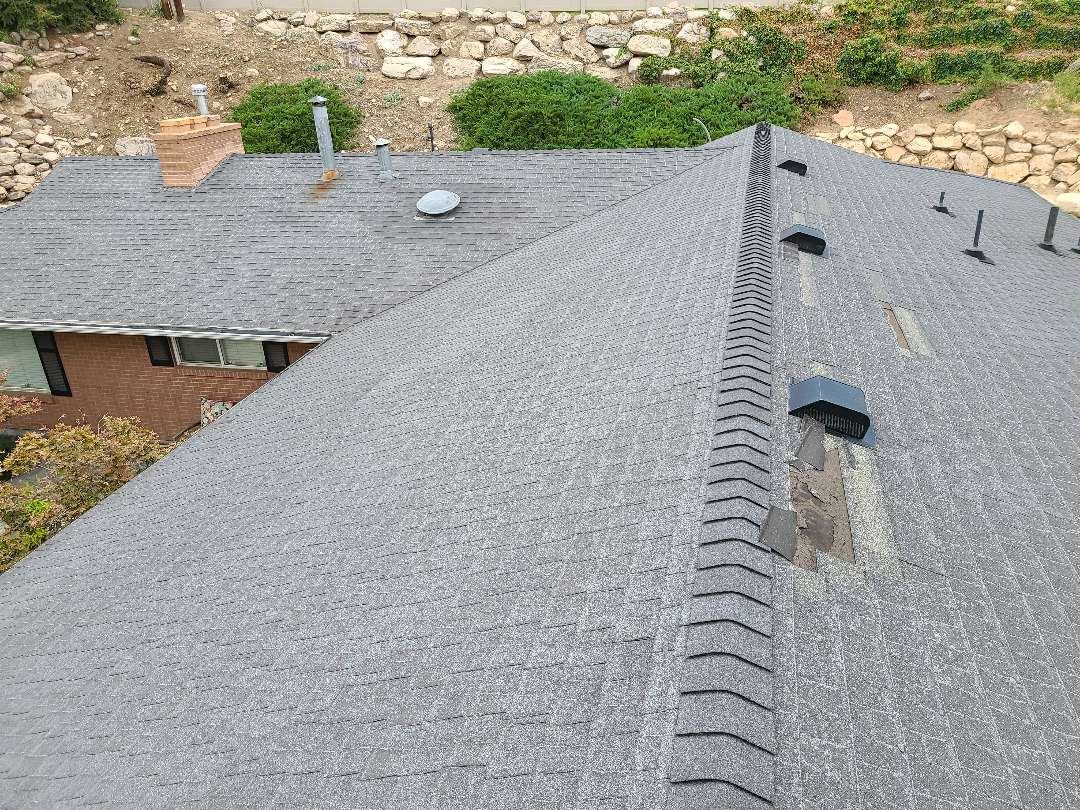 Holladay, UT - Free bid for a full roof replacement and recommendation to file an insurance claim for wind damage.