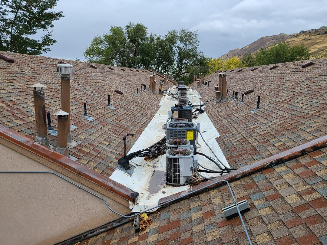 Salt Lake City, UT - Roof inspection and estimate for necessary roof maintenance prior to winter