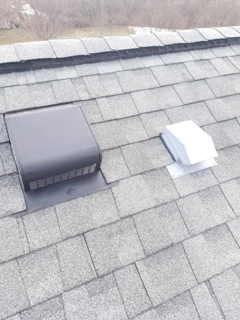 Warrenville, IL - Our service technician removed and replaced the existing vents with new ones.