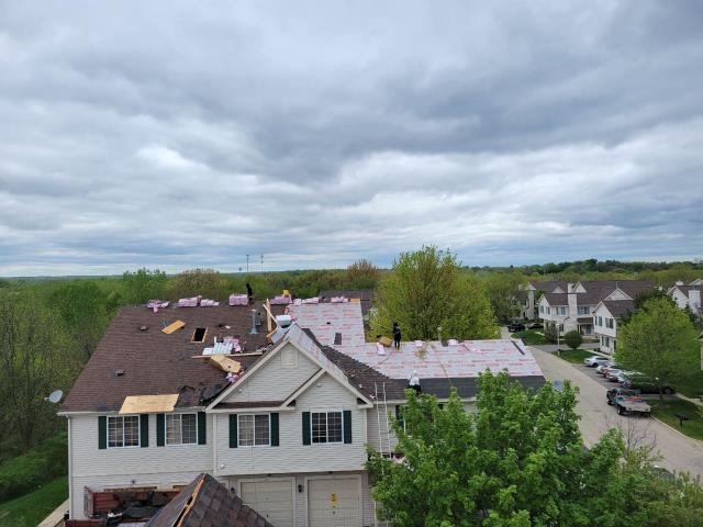 Fox Lake, IL - Our current roofing project is underway, we will be onsite for the next few days.
