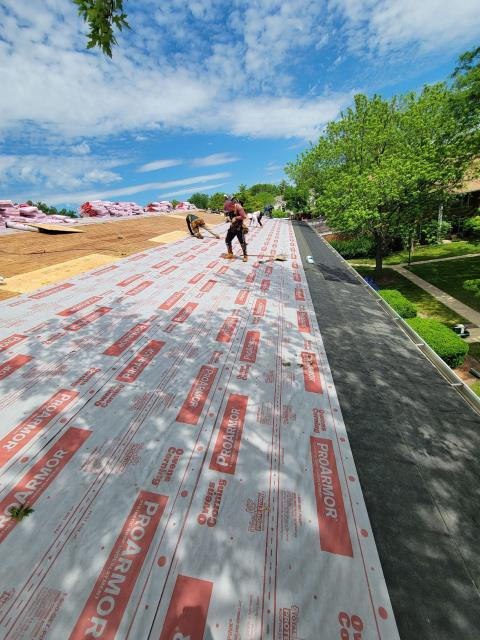 Palatine, IL - Our great company completed this roof in one day.
