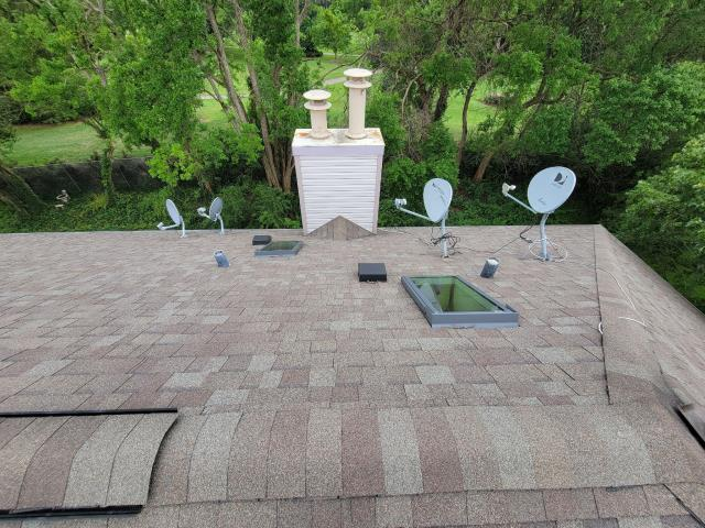 Palatine, IL - Our service team completed roof repair on the rear of the building.