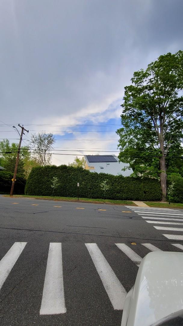 Northampton, MA - Standing seam metal roof with solar panels  Northampton, MA