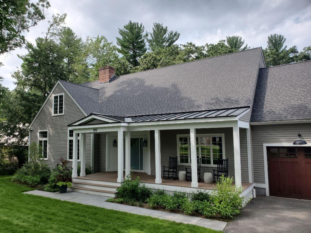 Concord, MA - Aluminum metal standing seam roof