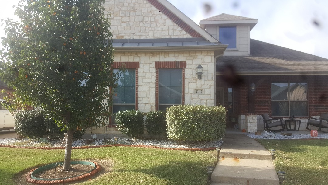 Forney, TX - Job completed!