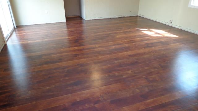 Hamilton, OH - Wanting to remodel that dinning room floor to help bring beauty and characteristics to your room? Rustic Wood is the perfect system to transform your concrete without sacrificing hours of cleaning and money!