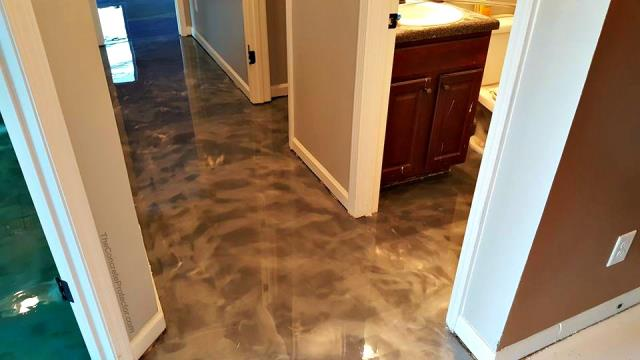 Lebanon, OH - We reached out to Mike to redo our hallway and bathroom floors. Mike come out to do a free estimate, gave us dates and times when the process would take place, and offered fair pricing! The results of the floor are absolutely stunning! You won't regret it if you hire Garage Floors Today to do your flooring. I highly recommend you give them a call!