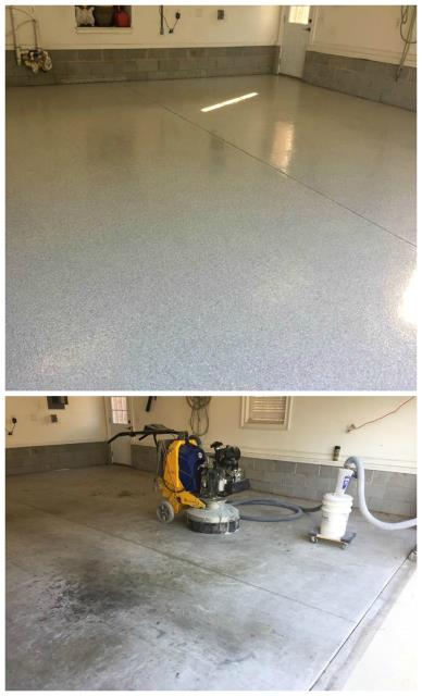 The transformations that Garage Floors Today can achieve is remarkable! Just look at how they transformed our garage. From ugly to beauty in a matter of days! Tremendous results in my option! Thanks again for our new beautiful garage floor!