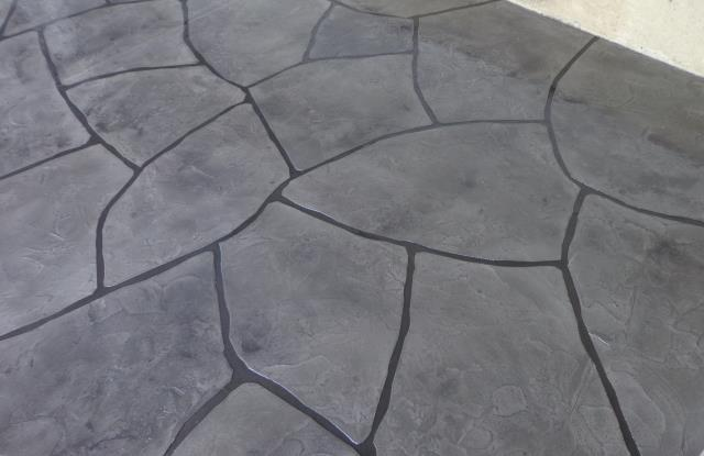 Garage Floors Today can turn any slab into a work of art with concrete coatings that are WAY better than stamped!