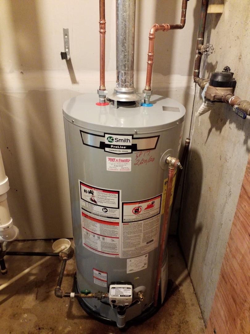 Peru, IL - Water heater replacement