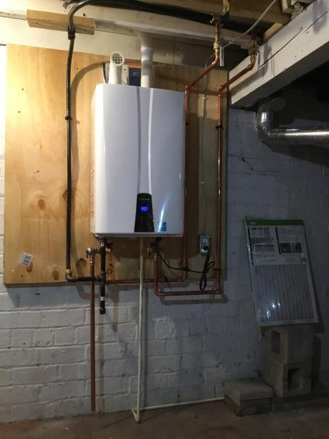 Install Navien Tankless Water Heater