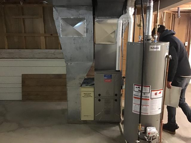 Oglesby, IL - Install Bryant Furnace and AC
