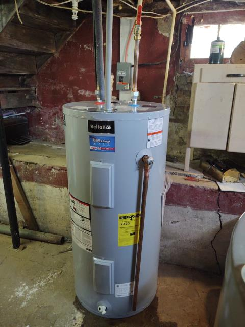 Ladd, IL - Install new 50gal electric water heater