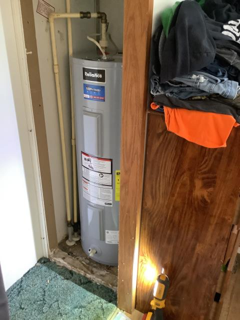 Tonica, IL - Install 40gal electric water heater