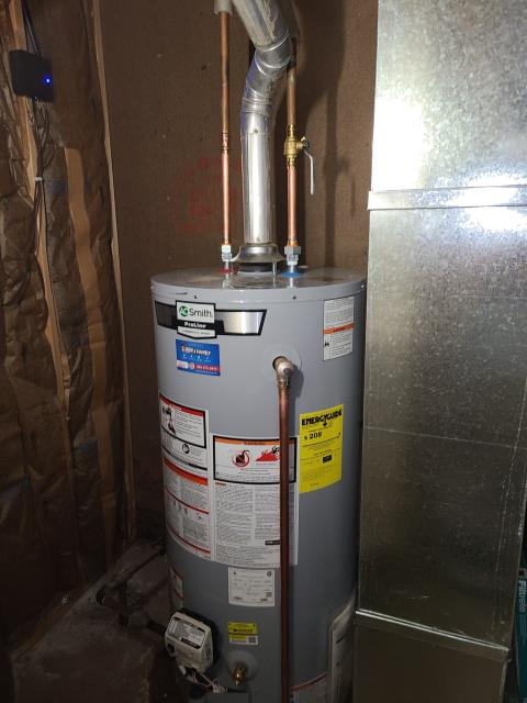 North Utica, IL - Installed AO Smith 40gal water heater