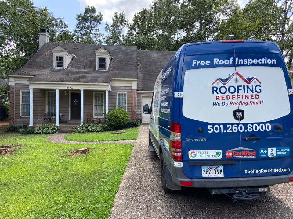 Little Rock, AR - Replacing roof, wood rot, and adding siding on this house