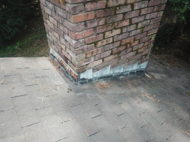 Little Rock, AR - Replacing Chimney flashing because of leaking