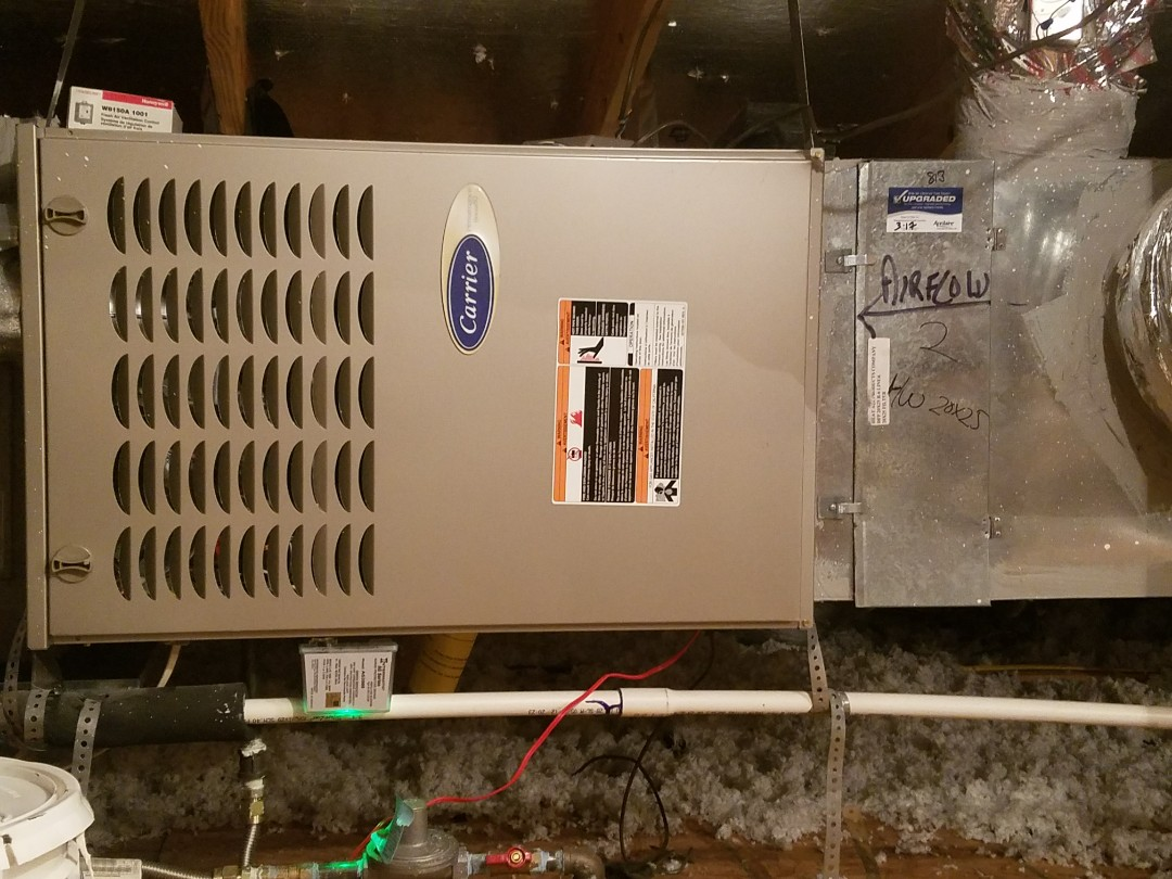 Richardson, TX - Installed Aprilaire filters, indoor air quality, surge protectors
