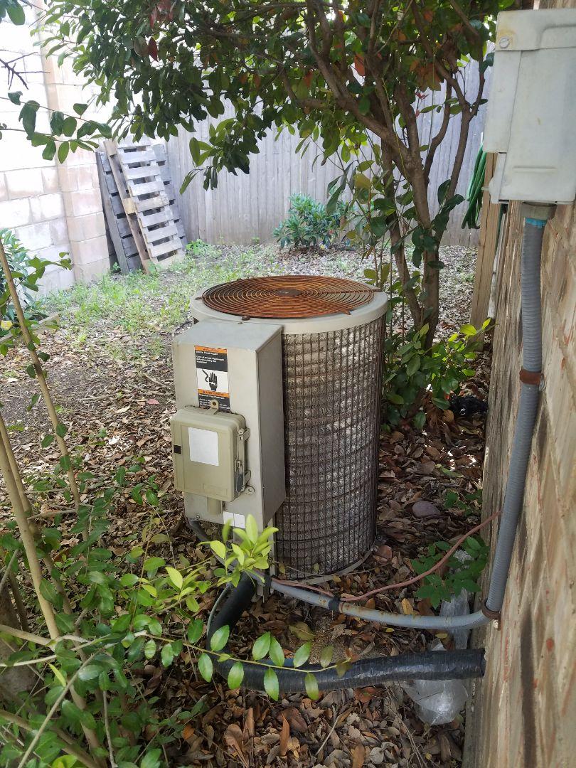 Garland, TX - Rewired heat pump