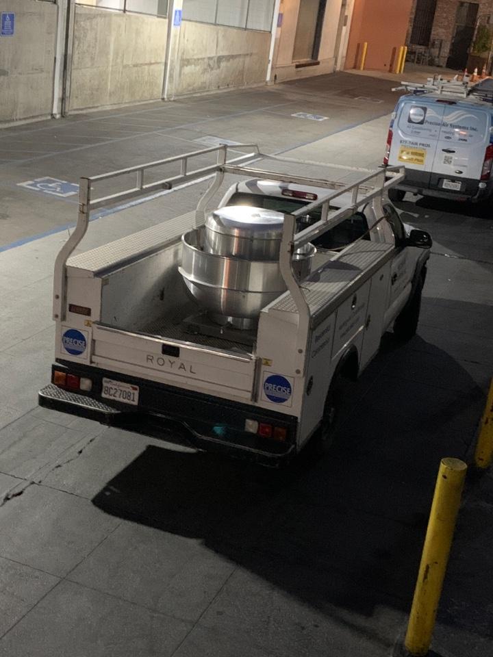 Pasadena, CA - Helping changing  a exhaust fan in Pasadena