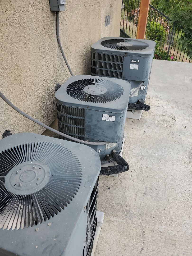 Monterey Park, CA - Change out 2 systems out of three.